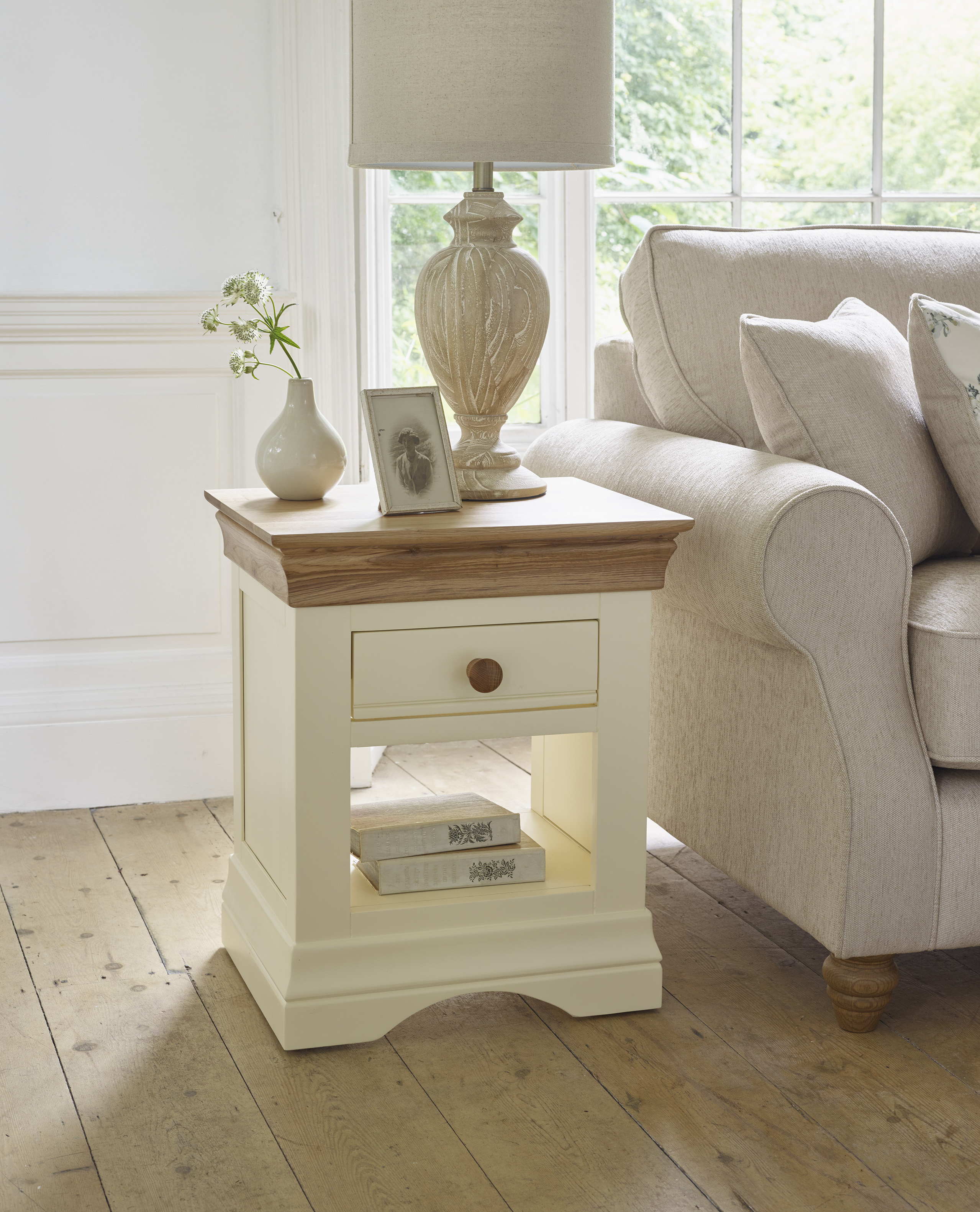 Country Cottage Lamp Table