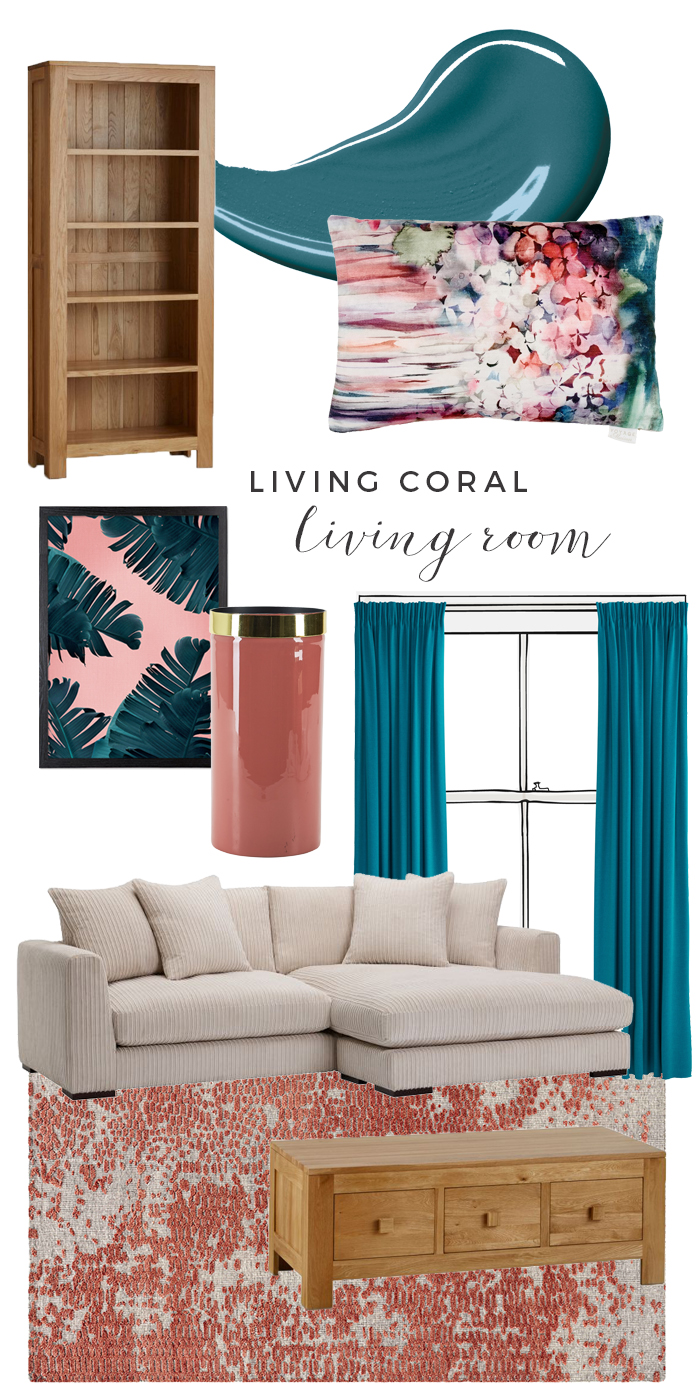 Living Coral Moodboard