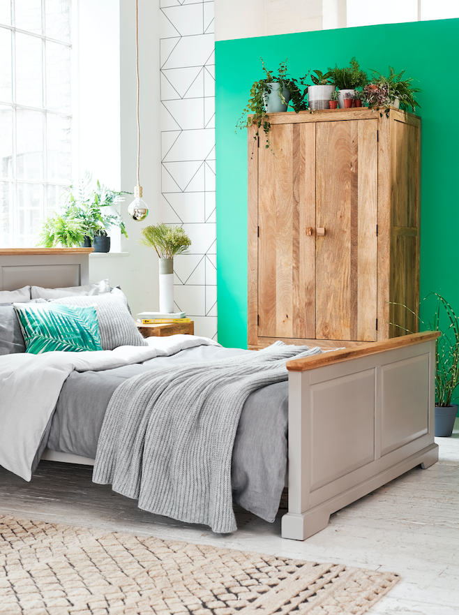 Green Tranquil Bedroom