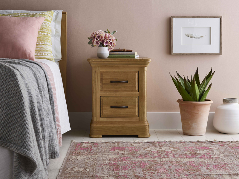 Canterbury Bedside Table