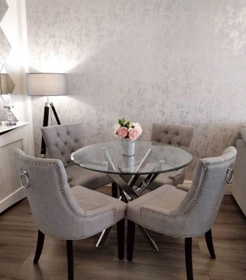 Bring Spring into your home with a bouquet to adorn your dining room table - just like Sarah has done!