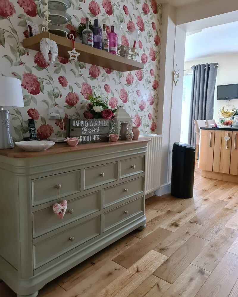 cottagecore brindle chest of drawers