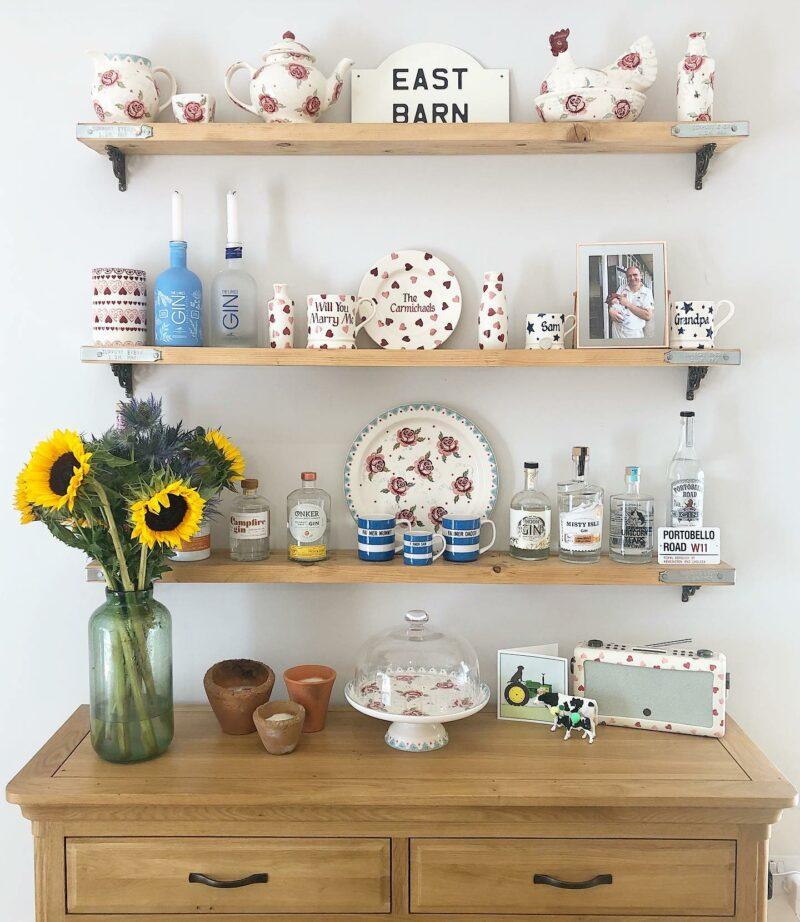 cottagecore canterbury large sideboard