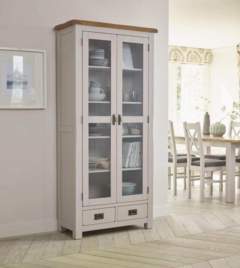Kemble display cabinet