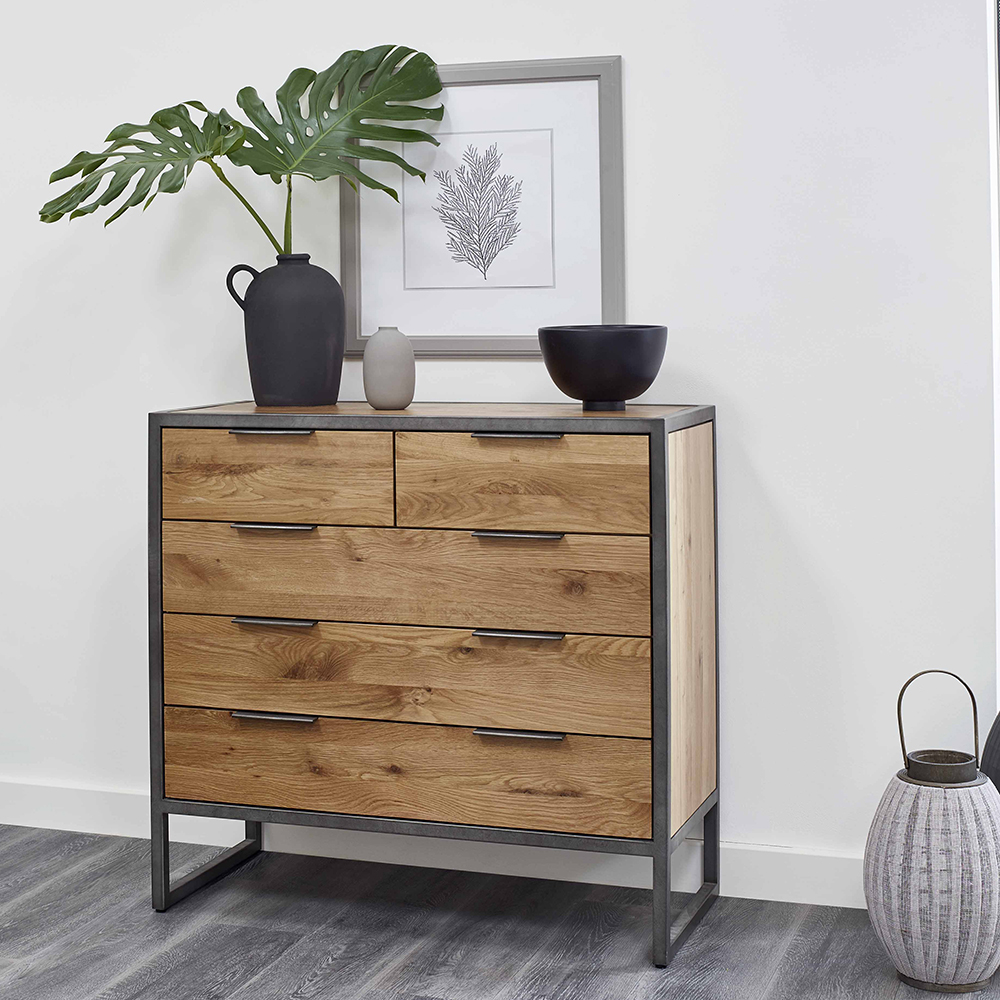 Industrial Chest of Drawers with accessories
