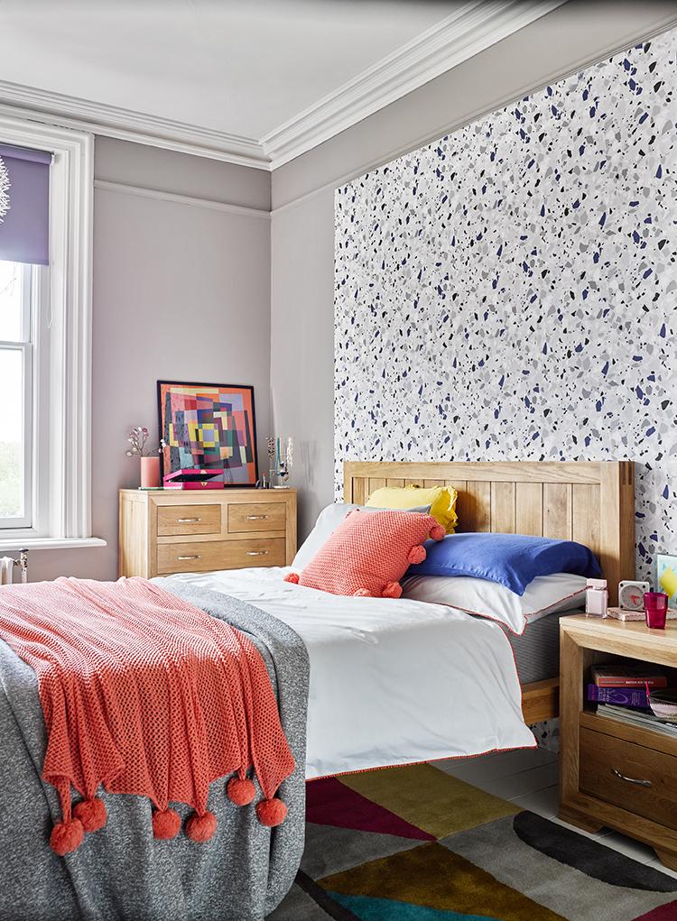 Terrazzo Styled Bedroom Decor