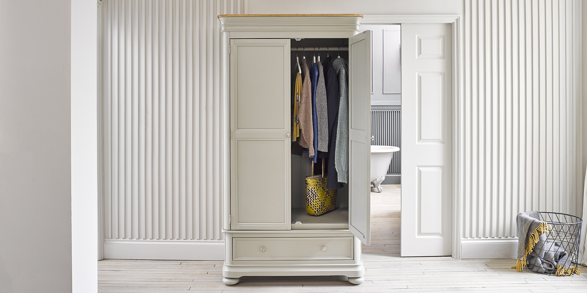 Painted wardrobe brindle collection