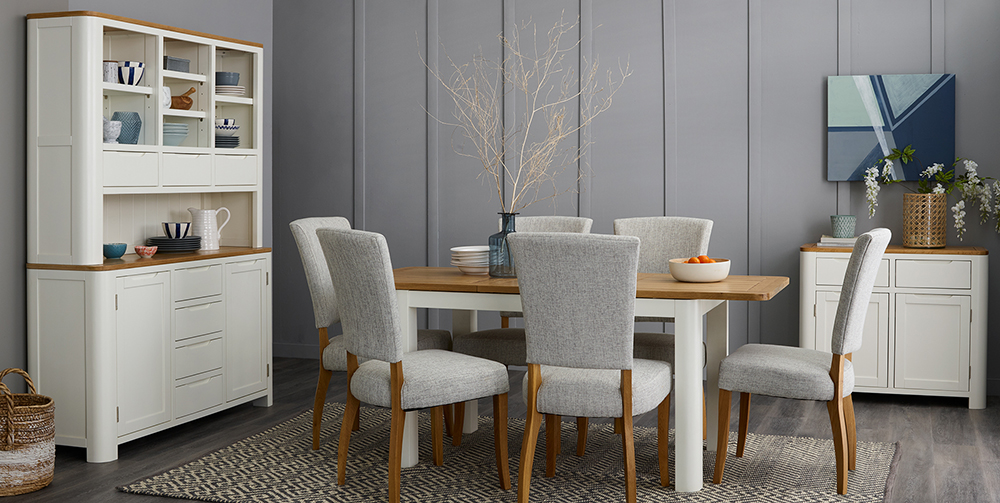 Hove White Painted Dining Room Furniture