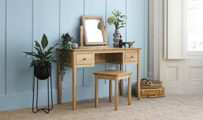 Scandi style dressing table