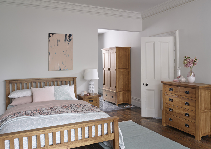 rustic style bedroom furniture set