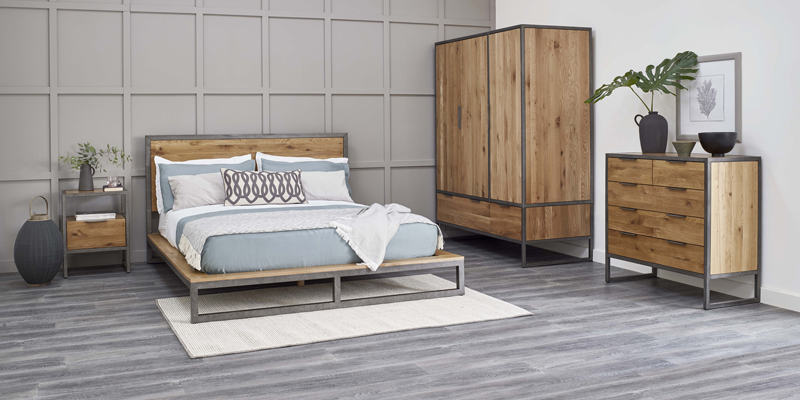 Industrial bedroom furniture