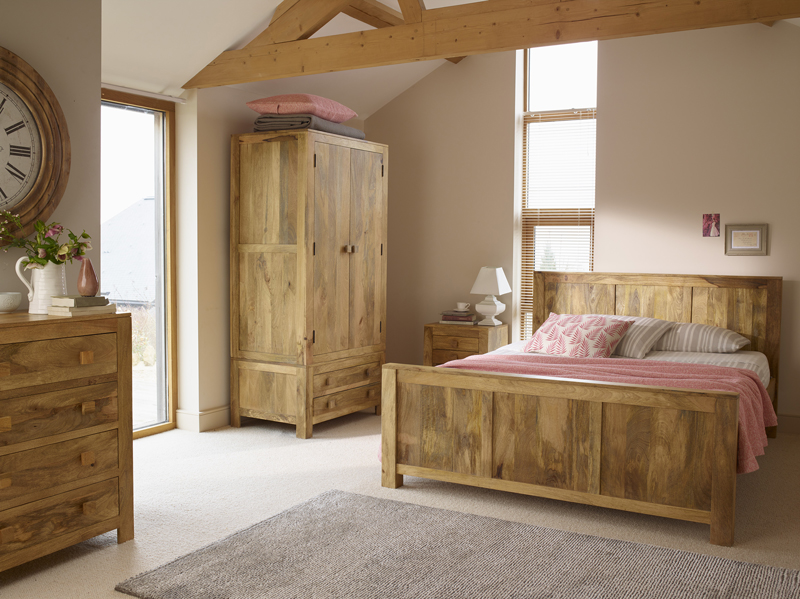 Mango oak bedroom furniture