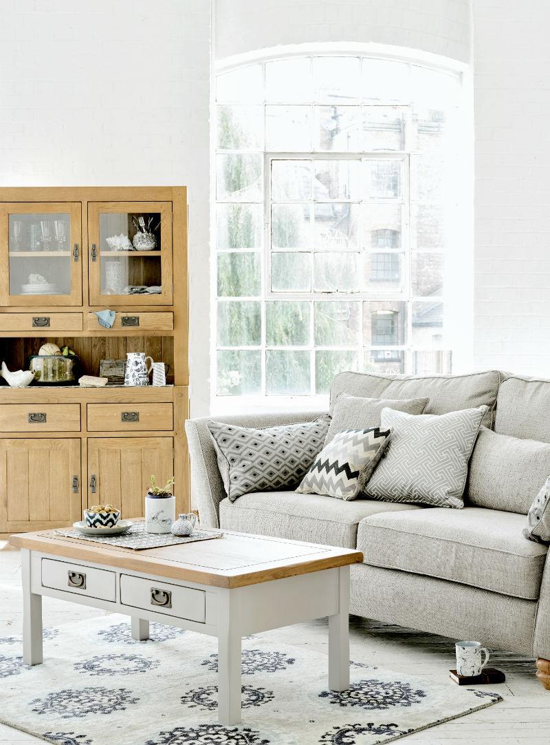 Aegean style living room