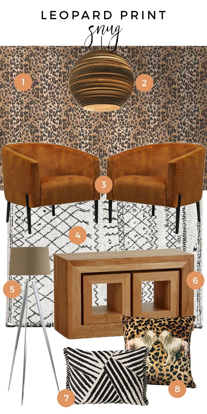 Leopard Print Snug Moodboard
