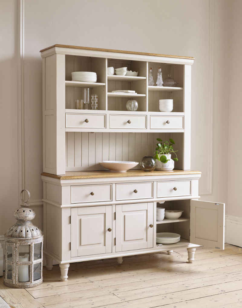 Cream farmhouse style welsh dresser