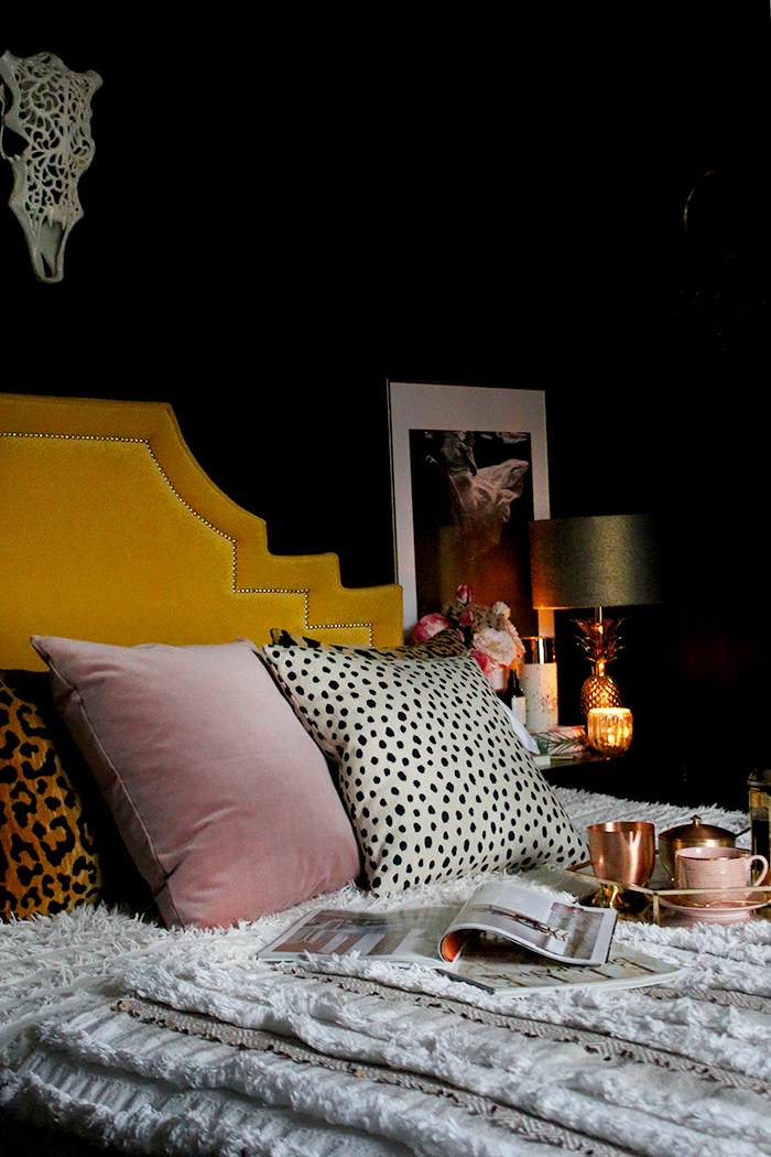 Bedroom Image from blogger Kimberly Duran
