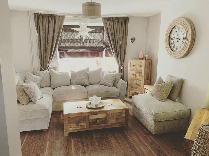 mango oak matching living room furniture