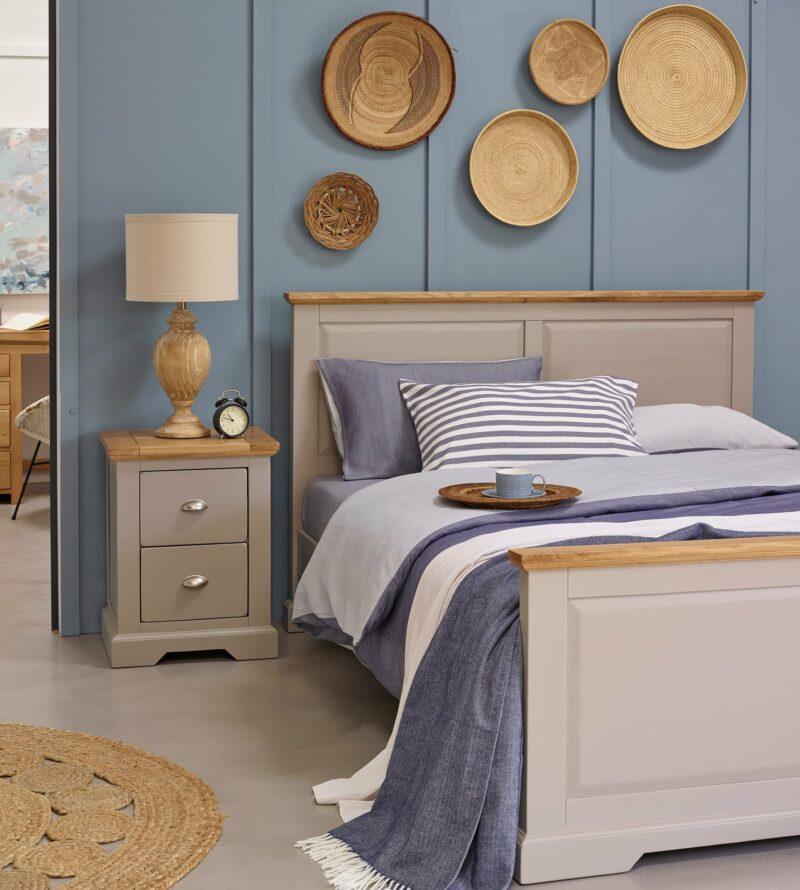 St Ives grey painted furniture bedroom