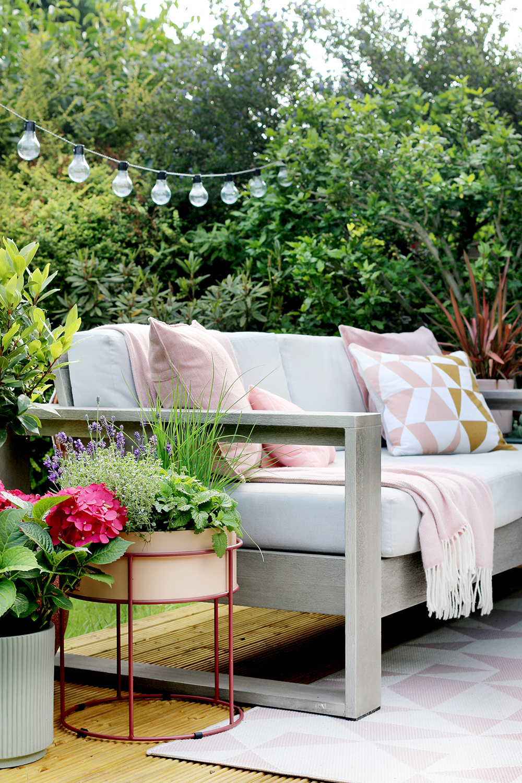 blogger Kimberly Durans garden