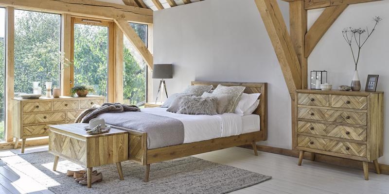 parquet bedroom range