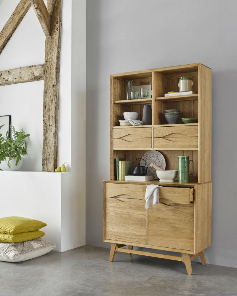 scandinavian style small dresser