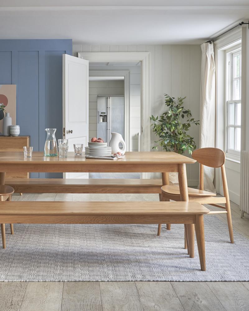 retro inspired dining furniture