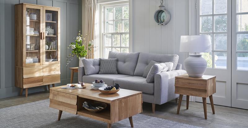 retro inspired living room furniture
