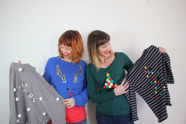 DIY christmas jumpers for kids