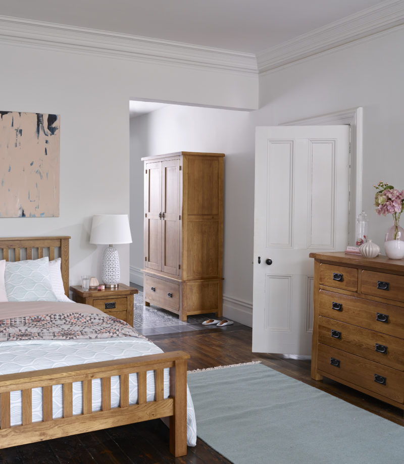 Rustic Oak Bedroom