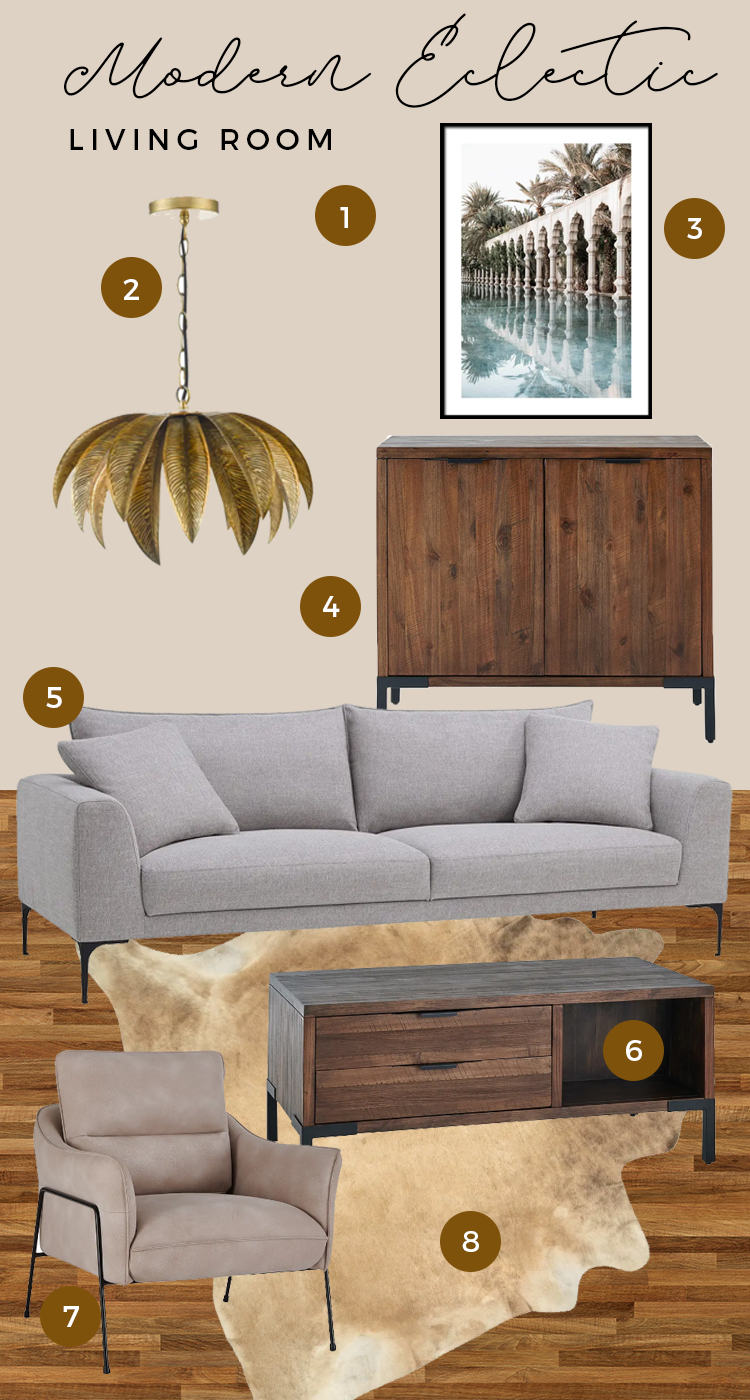 detroit living room moodboard