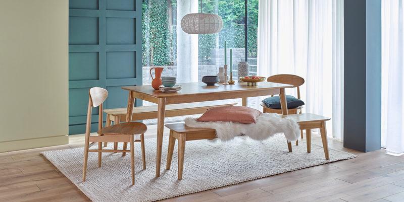 scandinavian style dining furniture