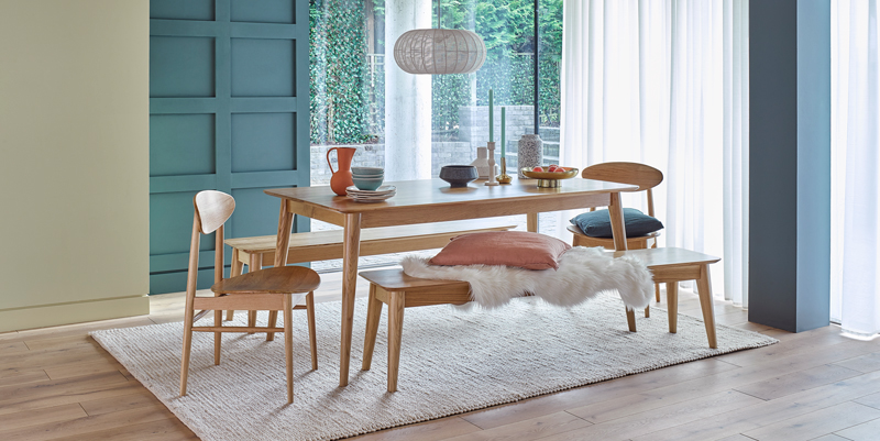 scandinavian style dining furniture