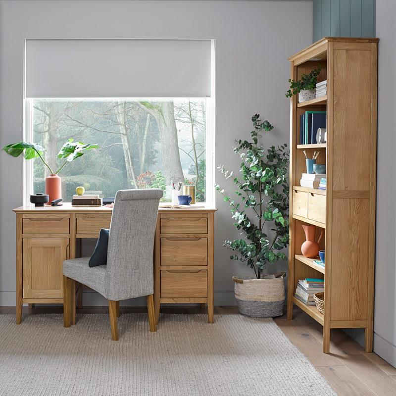 scandinavian style oak office furniture