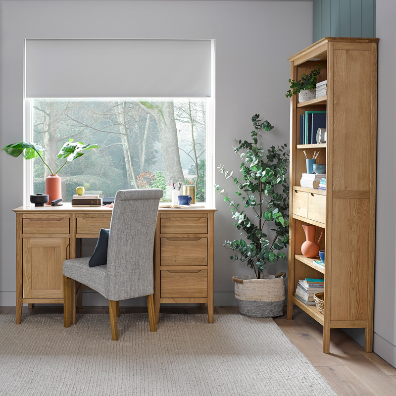 scandinavian style oak office furniture
