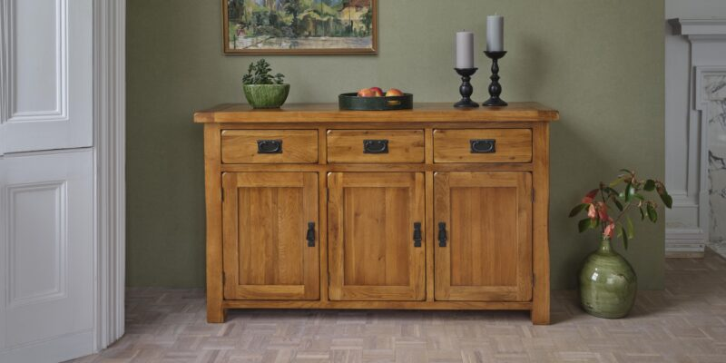 Original Rustic Large Sideboard