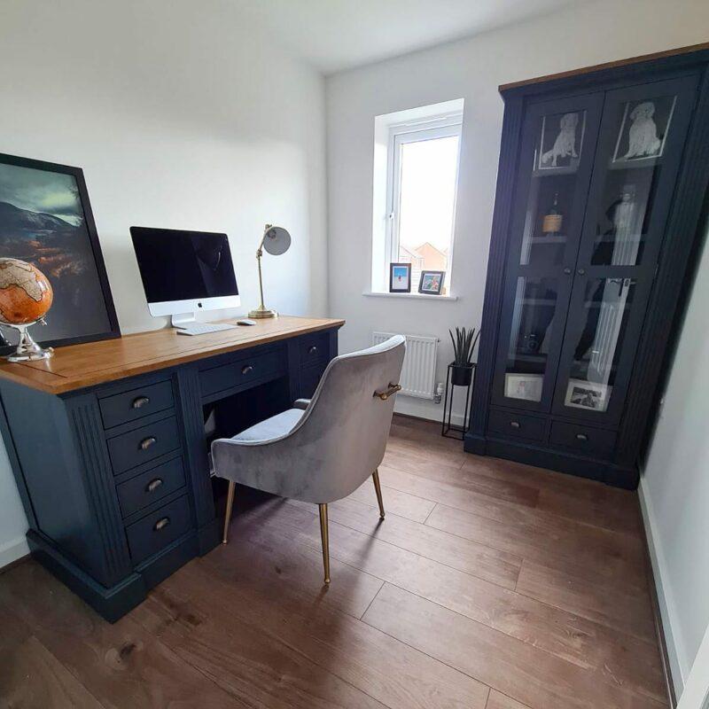Dark office furniture