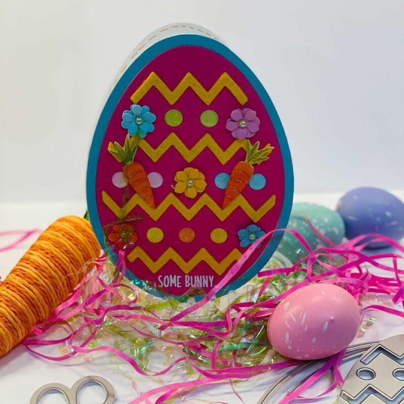 Homemade Easter card
