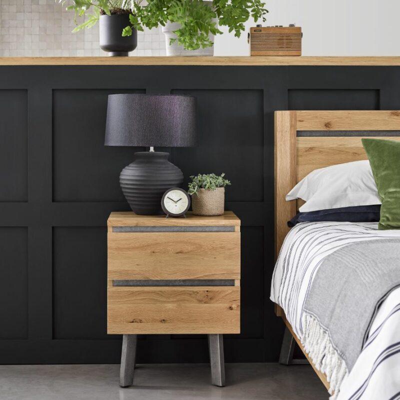 Boston Industrial style Bedroom