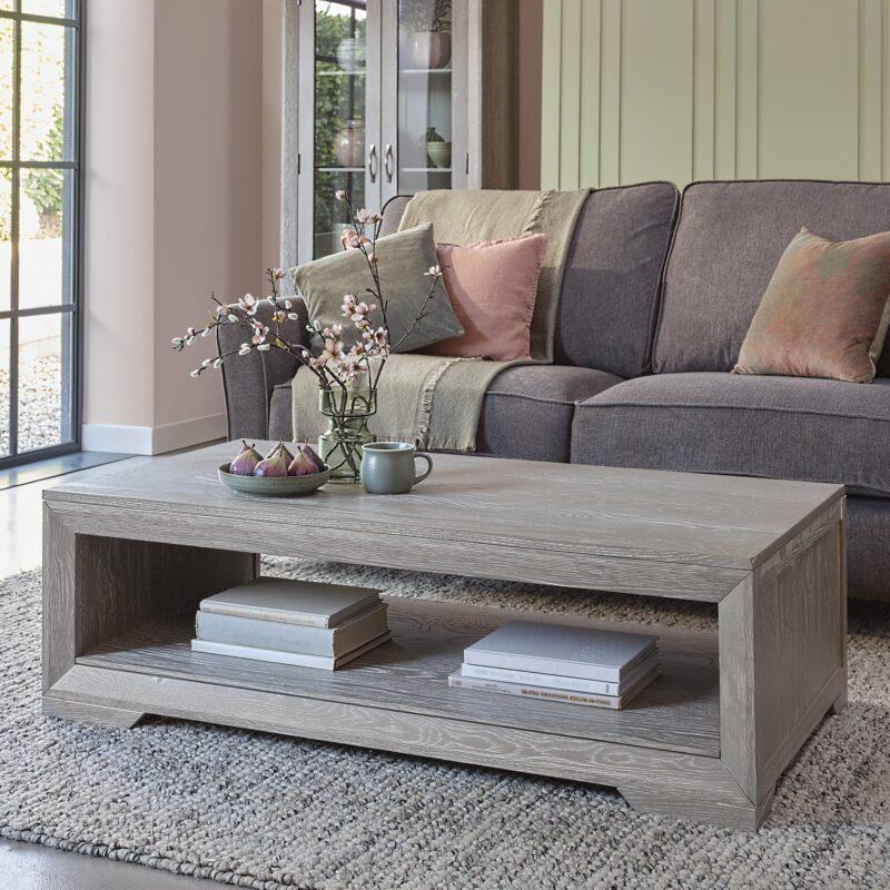Willow grey oak coffee table