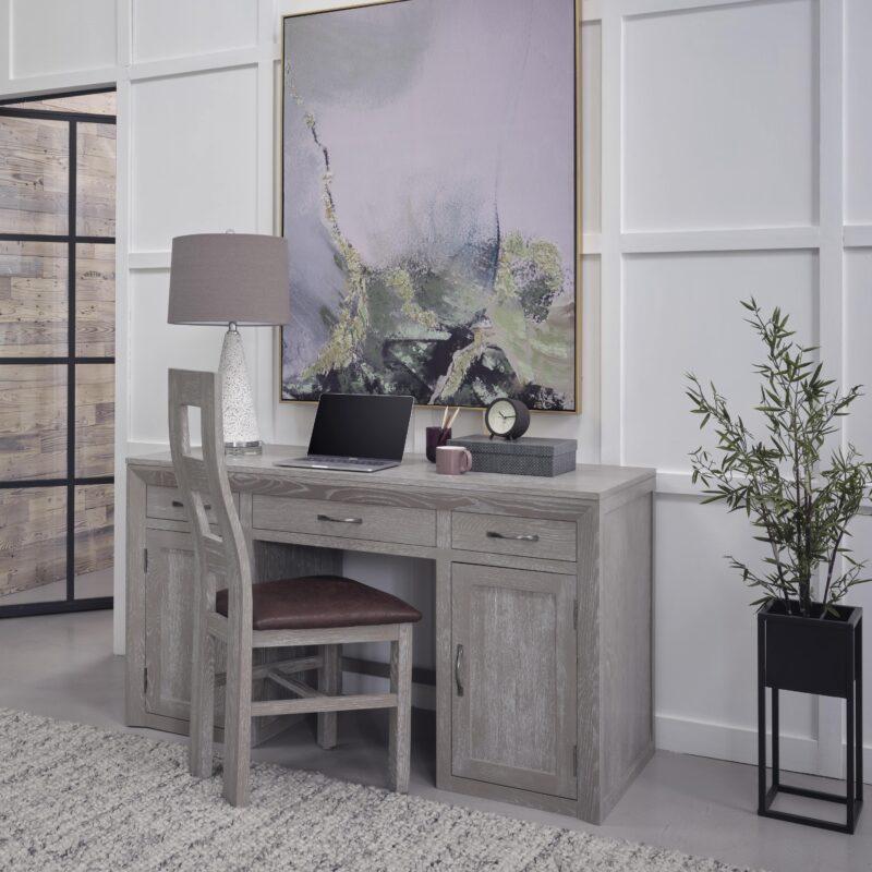 willow grey oak desk
