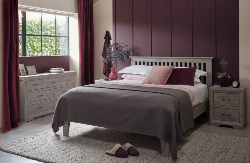 Willow grey oak bedroom