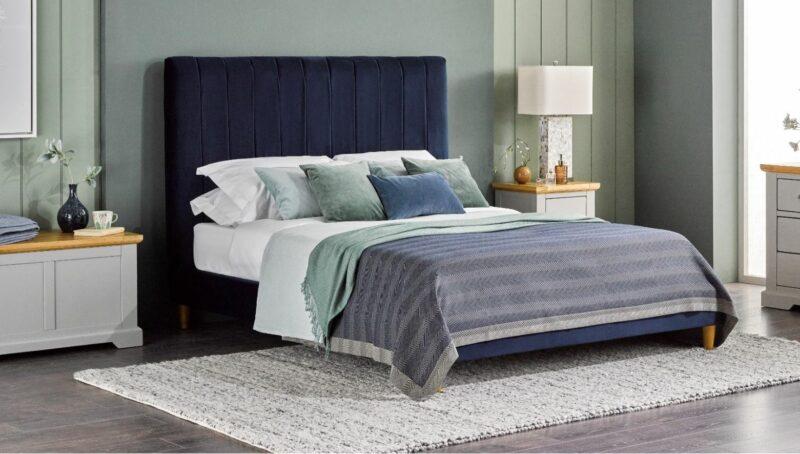 Paris upholstered bedroom