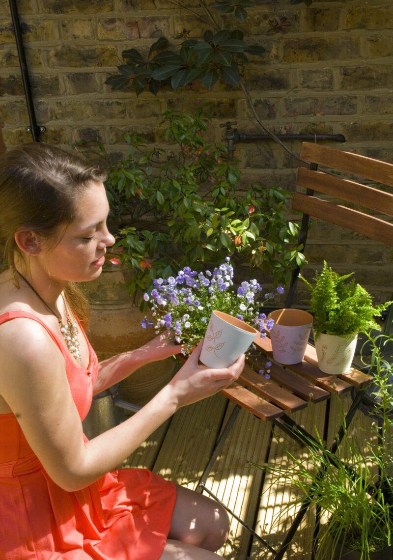 DIY Terracotta Plant Pot