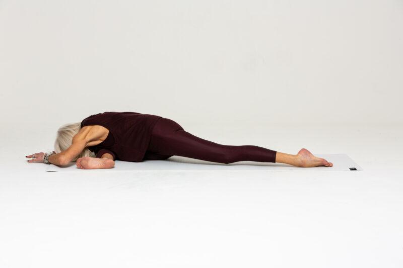yoga pose for better sleep