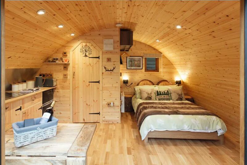 glamping in forest of dean