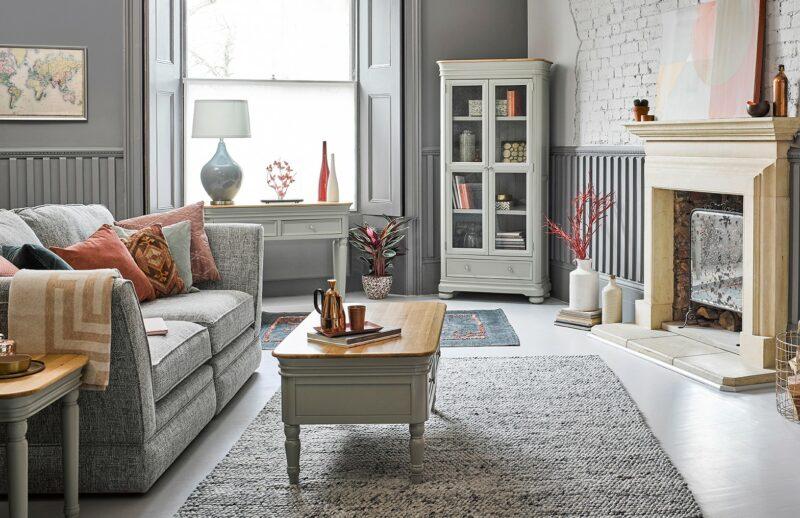 Brindle living room
