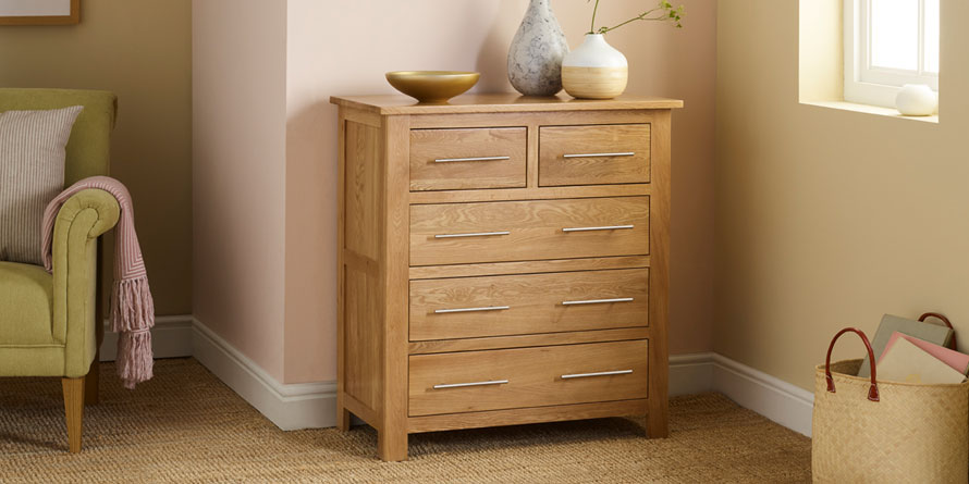 Rivermead 5 Drawer Chest