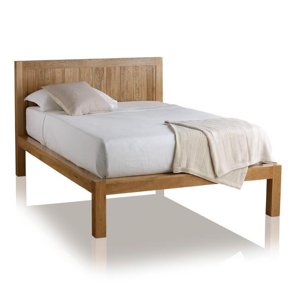 Alto Natural Solid Oak 5ft King Size Bed thumbnail