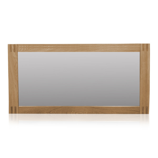 Alto Natural Solid Oak 1200 X 600 Wall Mirror thumbnail