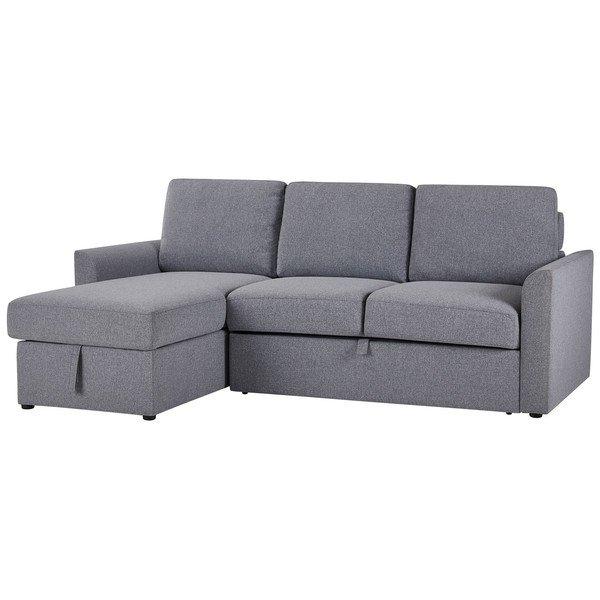 Ash Fabric Sofas Right Hand Chaise Sofa Bed Dream Sofas ...